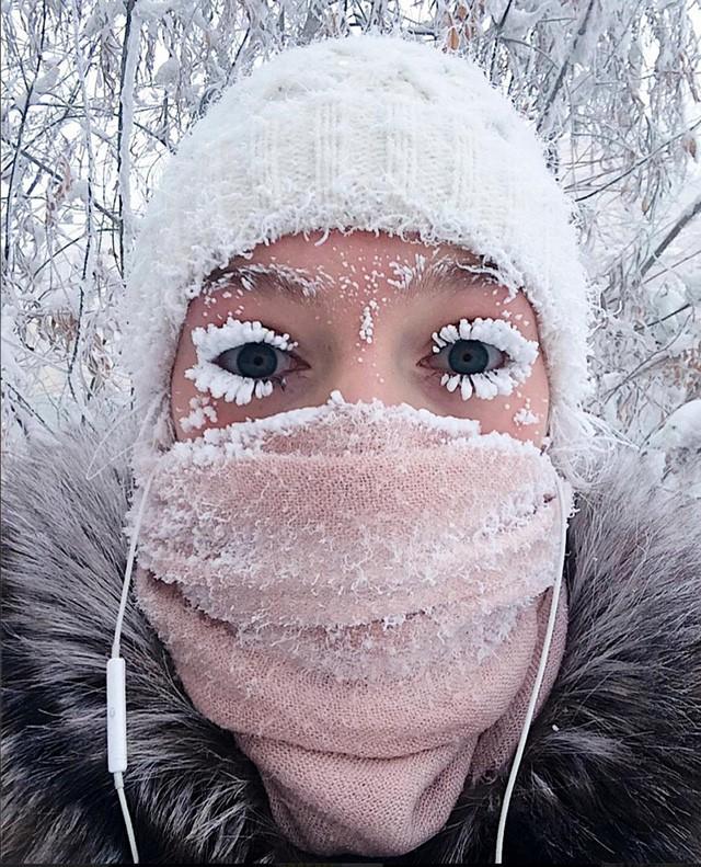 """""""Rùng mình"""" với bức hình mùa hè ở vùng đất lạnh nhất thế giới - Ảnh 1."""