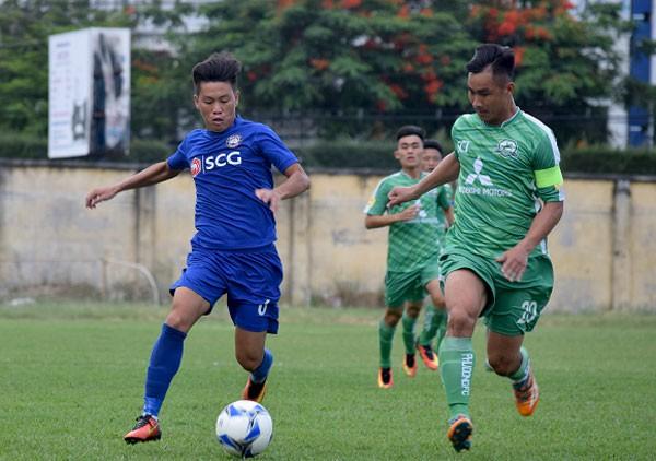 Thắng luân lưu nghẹt thở, Phù Đổng FC thăng hạng Nhất mùa bóng 2019 - Ảnh 1.