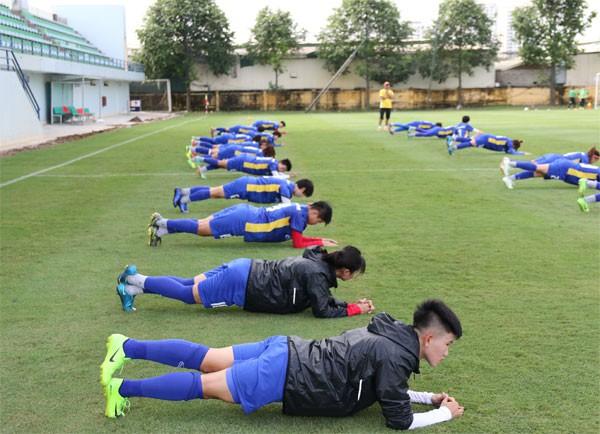 Sau HCĐ AFF Cup nữ 2018, Đội tuyển nữ Quốc gia tiếp tục chuẩn bị cho Asiad 2018 - Ảnh 6.