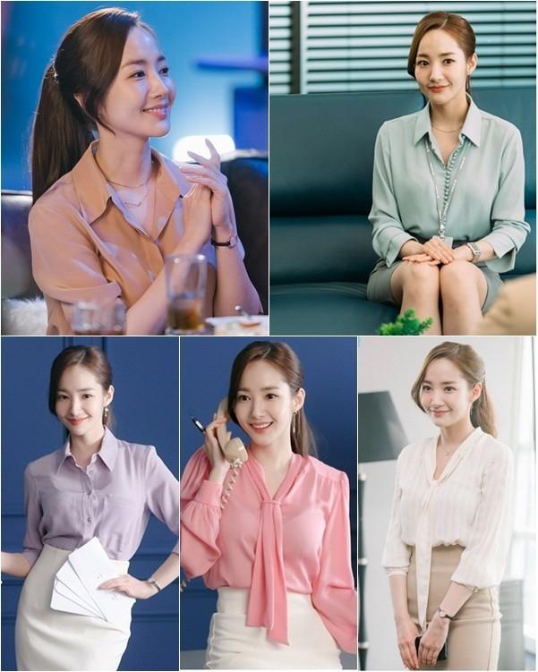 Nhờ Thư ký Kim sao thế?, Park Min-young được ví như biểu tượng thời trang mới - Ảnh 4.
