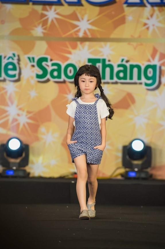 Dàn mẫu nhí xinh yêu tự tin tỏa sáng trong Chương trình Sao Tháng 7 - Ảnh 2.