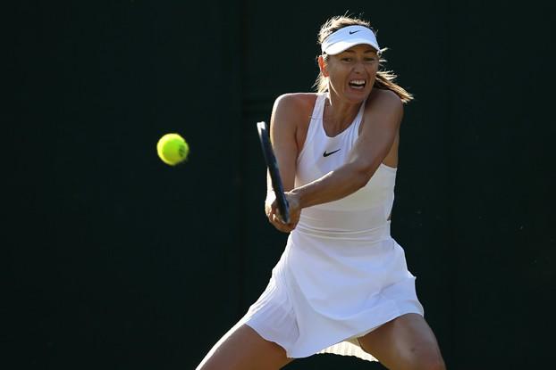 Vòng 2 đơn nữ Wimbledon: Sharapova dừng bước; Muguruza, Halep đi tiếp - Ảnh 3.