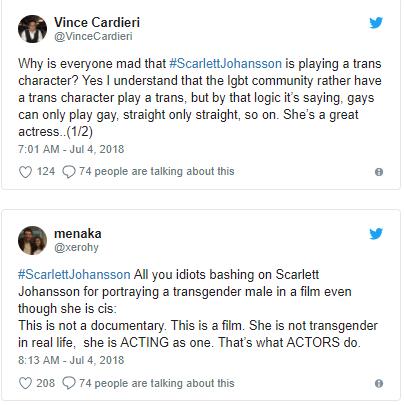 Góa phụ đen Scarlett Johansson bị ném đá khi vào vai người chuyển giới - Ảnh 2.