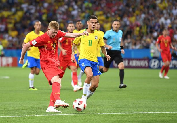 Chấm điểm ĐT Brazil 1 – 2 ĐT Bỉ: Bộ ba giải Ngoại hạng tỏa sáng - Ảnh 1.