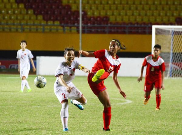 Đánh bại Philippines 5-0, Việt Nam giành quyền vào chơi bán kết giải AFF Cup nữ 2018 - Ảnh 4.