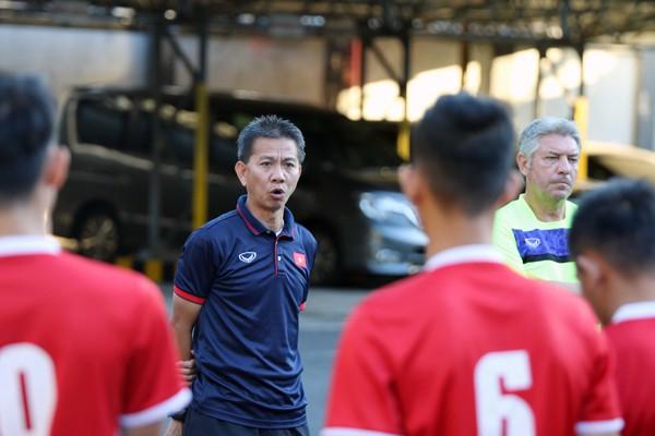 U19 Việt Nam chấn chỉnh tinh thần, lực lượng chuẩn bị cho trận cuối cùng tại bảng A - Ảnh 1.