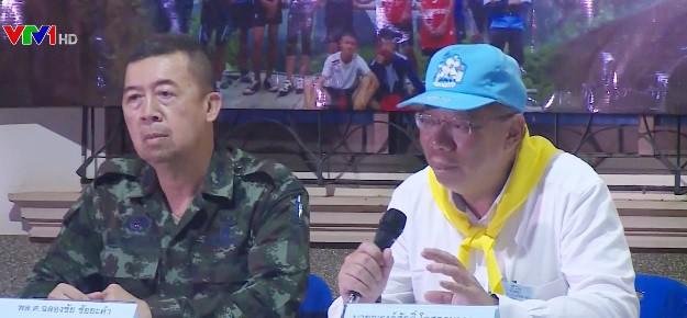 """""""Ngày đầu tiên cứu hộ đội bóng Thái Lan thành công hơn mong đợi"""" - Ảnh 1."""