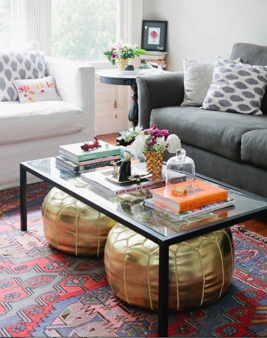 Bí kíp sắp xếp phòng khách có diện tích nhỏ tại nhà - Ảnh 6.