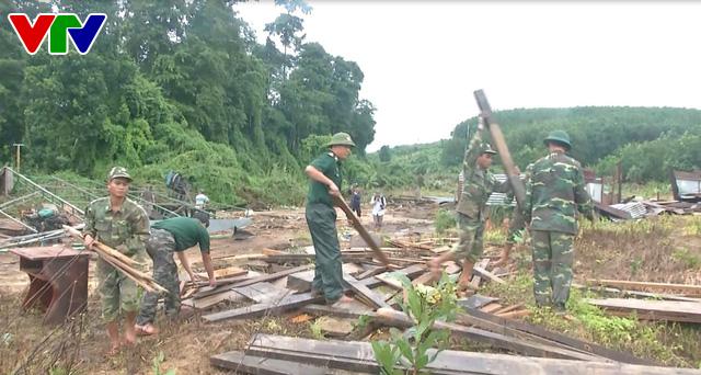 Kon Tum khẩn trương khắc phục hậu quả mưa lũ tại huyện biên giới Ia HDrai - Ảnh 3.