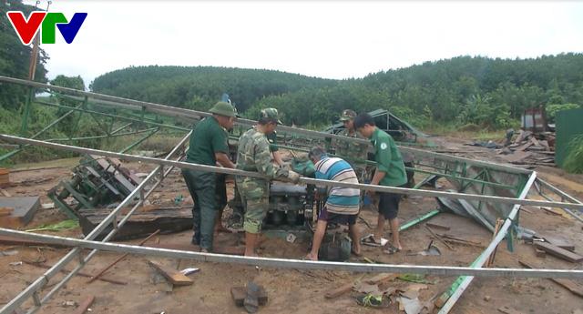 Kon Tum khẩn trương khắc phục hậu quả mưa lũ tại huyện biên giới Ia HDrai - Ảnh 2.