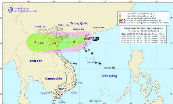 Lập 3 đoàn công tác tới các địa phương ứng phó với bão số 4 - Ảnh 2.