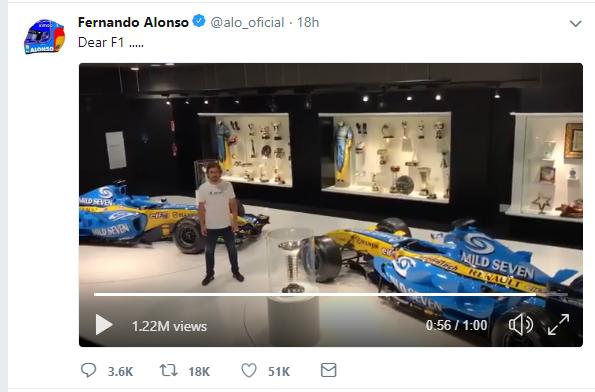Cựu vương Fernando Alonso tuyên bố chia tay F1 sau 17 năm - Ảnh 1.