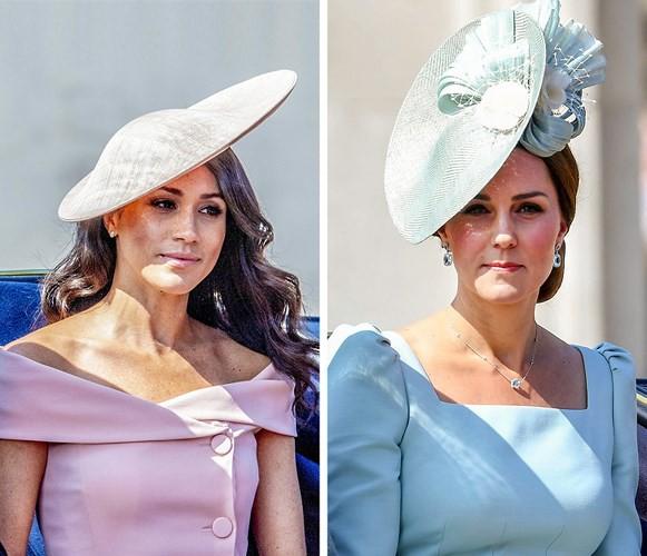 Học lỏm bí quyết thời trang sành điệu của hai nàng dâu Hoàng gia Anh - Ảnh 2.