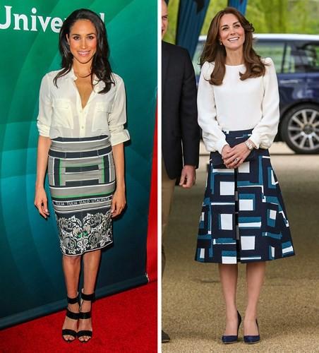 Học lỏm bí quyết thời trang sành điệu của hai nàng dâu Hoàng gia Anh - Ảnh 3.