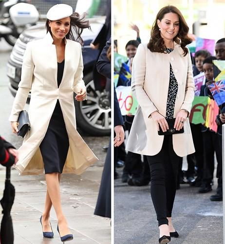 Học lỏm bí quyết thời trang sành điệu của hai nàng dâu Hoàng gia Anh - Ảnh 4.
