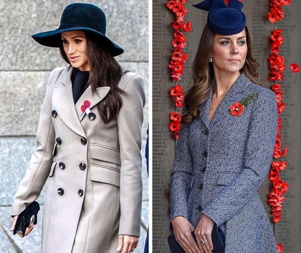 Học lỏm bí quyết thời trang sành điệu của hai nàng dâu Hoàng gia Anh - Ảnh 5.