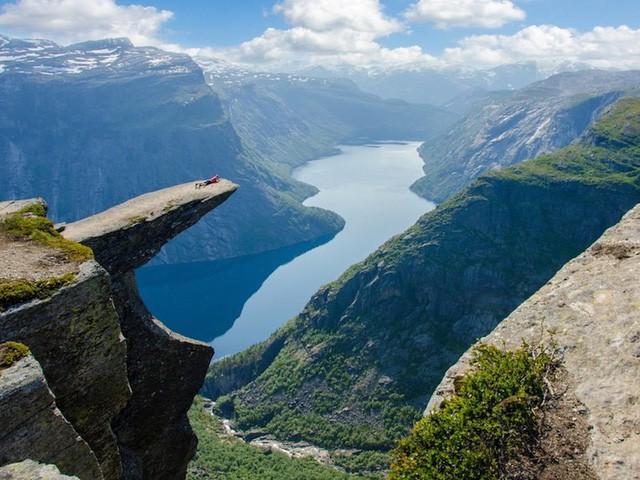 10 bức ảnh khiến bạn muốn đến Na Uy ngay lập tức - Ảnh 1.