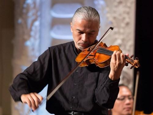 Nghệ sĩ violon Stéphane Trần Ngọc mang âm nhạc Pháp đến Hà Nội - Ảnh 1.