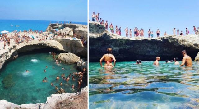 Những bể bơi tự nhiên đẹp mê hồn khắp thế giới - Ảnh 3.