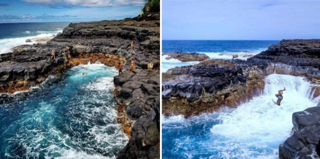 Những bể bơi tự nhiên đẹp mê hồn khắp thế giới - Ảnh 5.