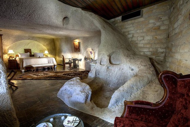 Trở về thời tiền sử tại 7 khách sạn hang động độc và lạ nhất hành tinh - Ảnh 2.