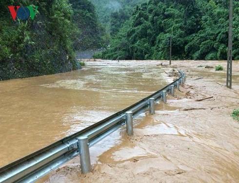 1 người đàn ông mất tích vì mưa lũ ở Sơn La - Ảnh 1.