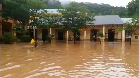 1 người đàn ông mất tích vì mưa lũ ở Sơn La - Ảnh 2.