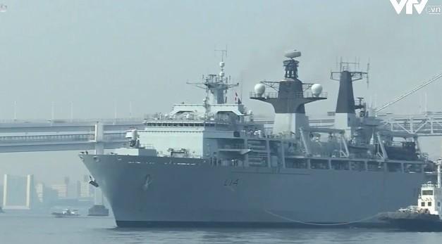 Hải quân Anh tham gia huấn luyện các đơn vị Lực lượng Phòng vệ Nhật Bản - Ảnh 1.