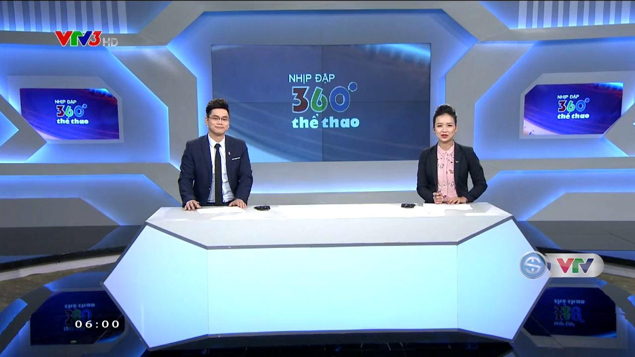 Nhịp đập 360 độ thể thao - 08/8/2018 - Video đã phát trên THE-THAO | VTV.VN