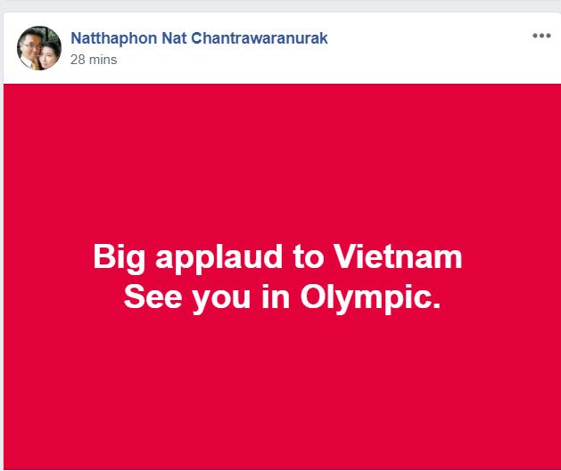 Lỡ huy chương ASIAD, ĐT Olympic Việt Nam vẫn được CĐV châu Á ngợi khen - Ảnh 4.