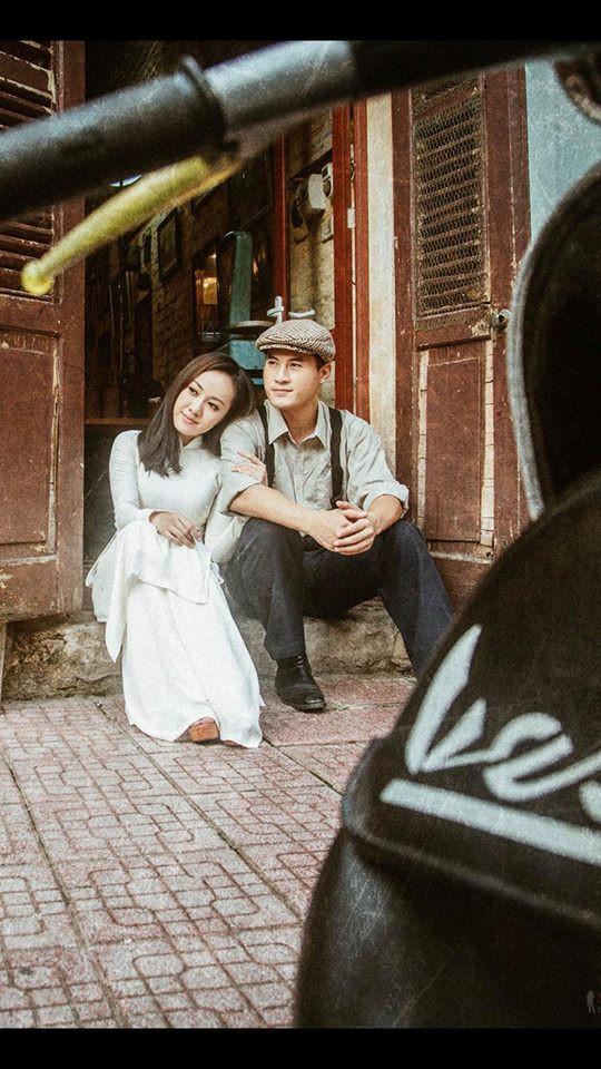 BTV Hoài Anh đẹp dịu dàng trong tà áo dài trắng tinh khôi - Ảnh 3.