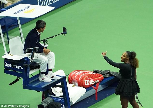 Serena Williams nhận án phạt từ WTA - Ảnh 2.