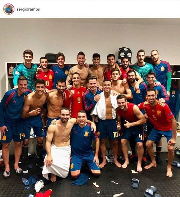Kết quả bóng đá sáng 12/9: Croatia phơi áo trước Tây Ban Nha, ĐT Bỉ có chiến thắng đầu tiên - Ảnh 3.