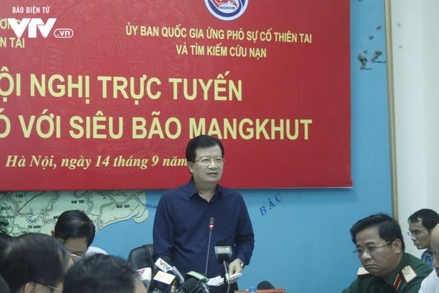 PTTg Trịnh Đình Dũng: Đảm bảo an toàn tính mạng và tài sản của người dân khi siêu bão Mangkhut đổ bộ - Ảnh 2.