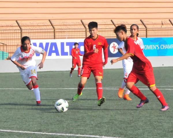 Vòng loại thứ nhất U16 nữ châu Á 2019 (bảng F): Việt Nam thắng đậm Bahrain 14-0 - Ảnh 3.