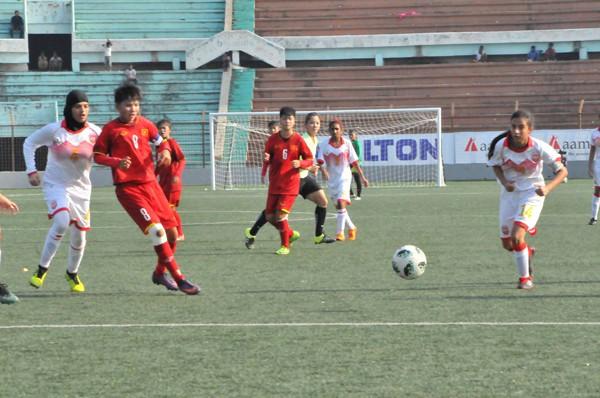 Vòng loại thứ nhất U16 nữ châu Á 2019 (bảng F): Việt Nam thắng đậm Bahrain 14-0 - Ảnh 5.