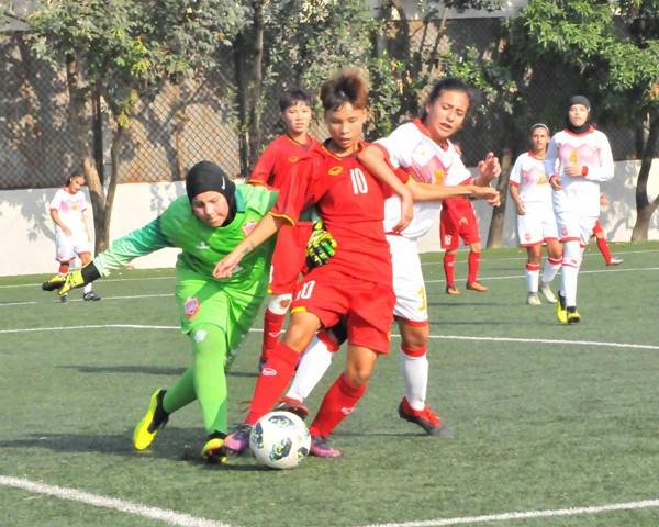 Vòng loại thứ nhất U16 nữ châu Á 2019 (bảng F): Việt Nam thắng đậm Bahrain 14-0 - Ảnh 7.