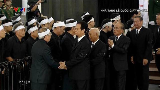 Cử hành trọng thể Lễ viếng Chủ tịch nước Trần Đại Quang - Ảnh 4.