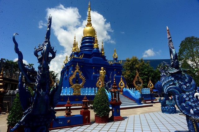 Mê mẩn trước ngôi đền xanh biếc, trăm năm tuổi - Ảnh 5.
