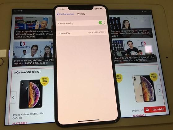 Cách sử dụng 2 SIM cùng lúc trên iPhone XS Max quốc tế - Ảnh 3.
