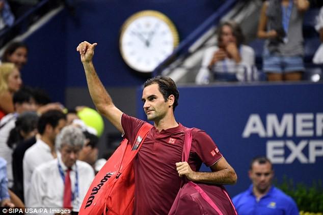 Giải quần vợt Mỹ mở rộng 2018: Roger Federer dừng bước ở vòng 4, lỡ hẹn với Djokovic - Ảnh 2.