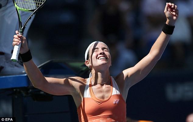 Giải quần vợt Mỹ mở rộng 2018: ĐKVĐ Sloane Stephens dừng bước ở tứ kết - Ảnh 1.