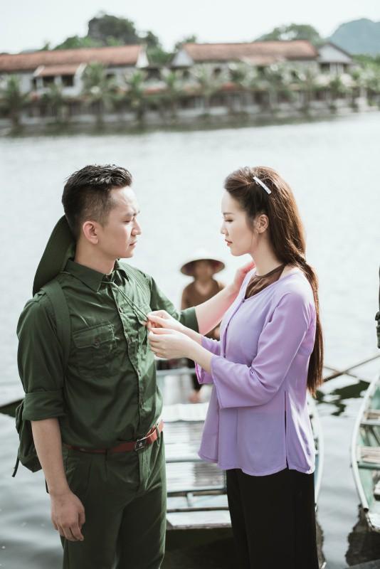MC Thụy Vân, Hạnh Phúc lần đầu khoe giọng hát quan họ ngọt lịm - Ảnh 6.