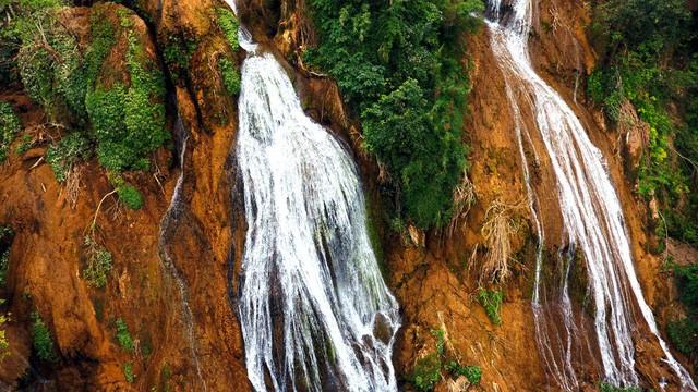 Thác nước cao 120m đẹp đến mê hồn ở xứ Nghệ - Ảnh 6.