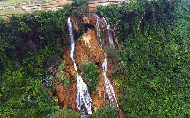 Thác nước cao 120m đẹp đến mê hồn ở xứ Nghệ - Ảnh 9.