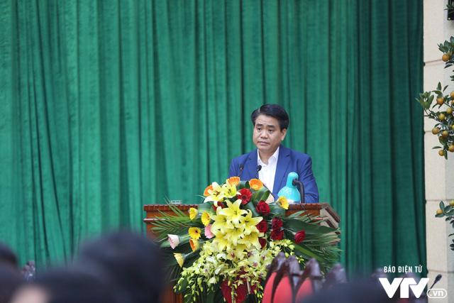 Lãnh đạo TP Hà Nội gặp mặt đại diện, phóng viên các cơ quan báo chí xuân Mậu Tuất - Ảnh 1.
