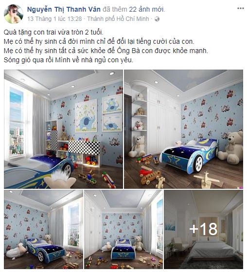 Bất ngờ trước quà khủng Phi Thanh Vân tặng con trai nhân dịp sinh nhật - Ảnh 1.