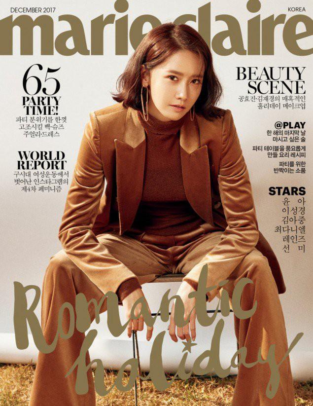 YoonA - Sao nữ phá đảo các tạp chí Hàn Quốc trong năm 2017 - Ảnh 1.