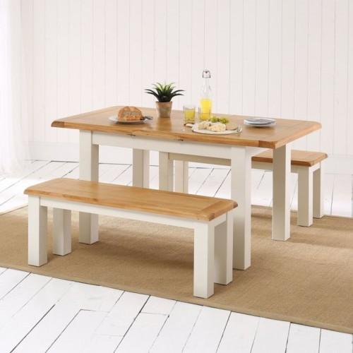 Những bộ bàn ăn gỗ mang phong cách Rustic - Ảnh 2.
