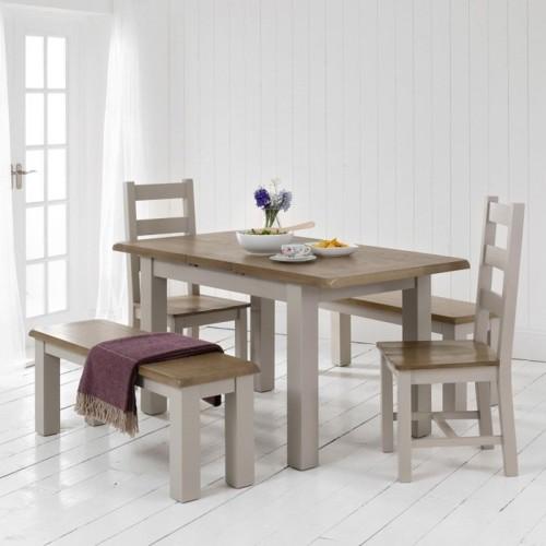 Những bộ bàn ăn gỗ mang phong cách Rustic - Ảnh 5.